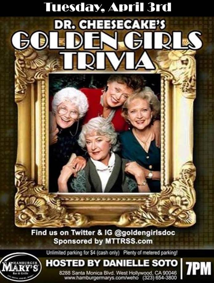 April Golden Girls